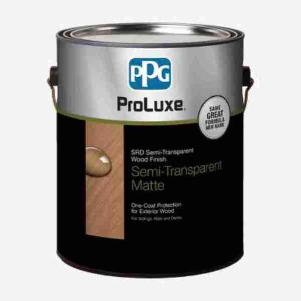 PROLUXE®SRD Semi-Transparent Wood Finish