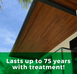 Lasts up to 75 years with treatment!
