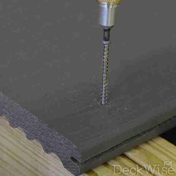 Decking Fasteners Composite