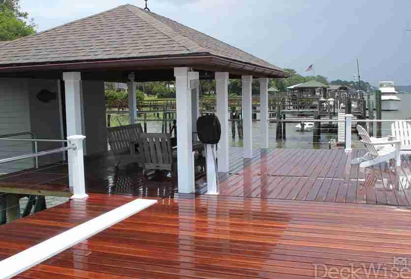 Cumaru Wood Porch