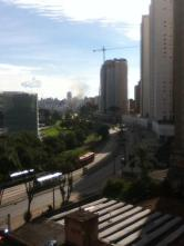 Curitiba Scene... Can you find the choo-choo about to pass by my home.