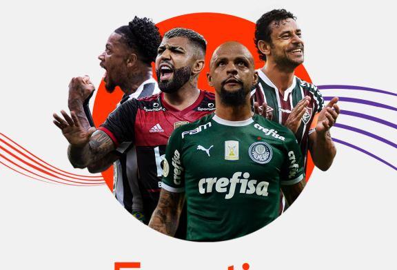 As emoções do futebol ao vivo, on demand e em português