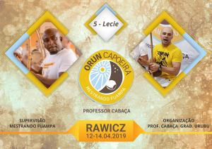 5 lat ORUN Capoeira w Rawiczu @ ul. Hallera 12