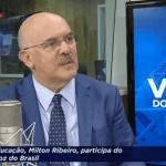 [VÍDEO] Ministro Milton Ribeiro fala sobre ano letivo de 2021 e aulas remotas
