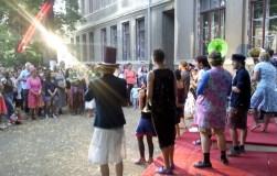 Die Brassbanditen eröffnen den Konzertmarathon.