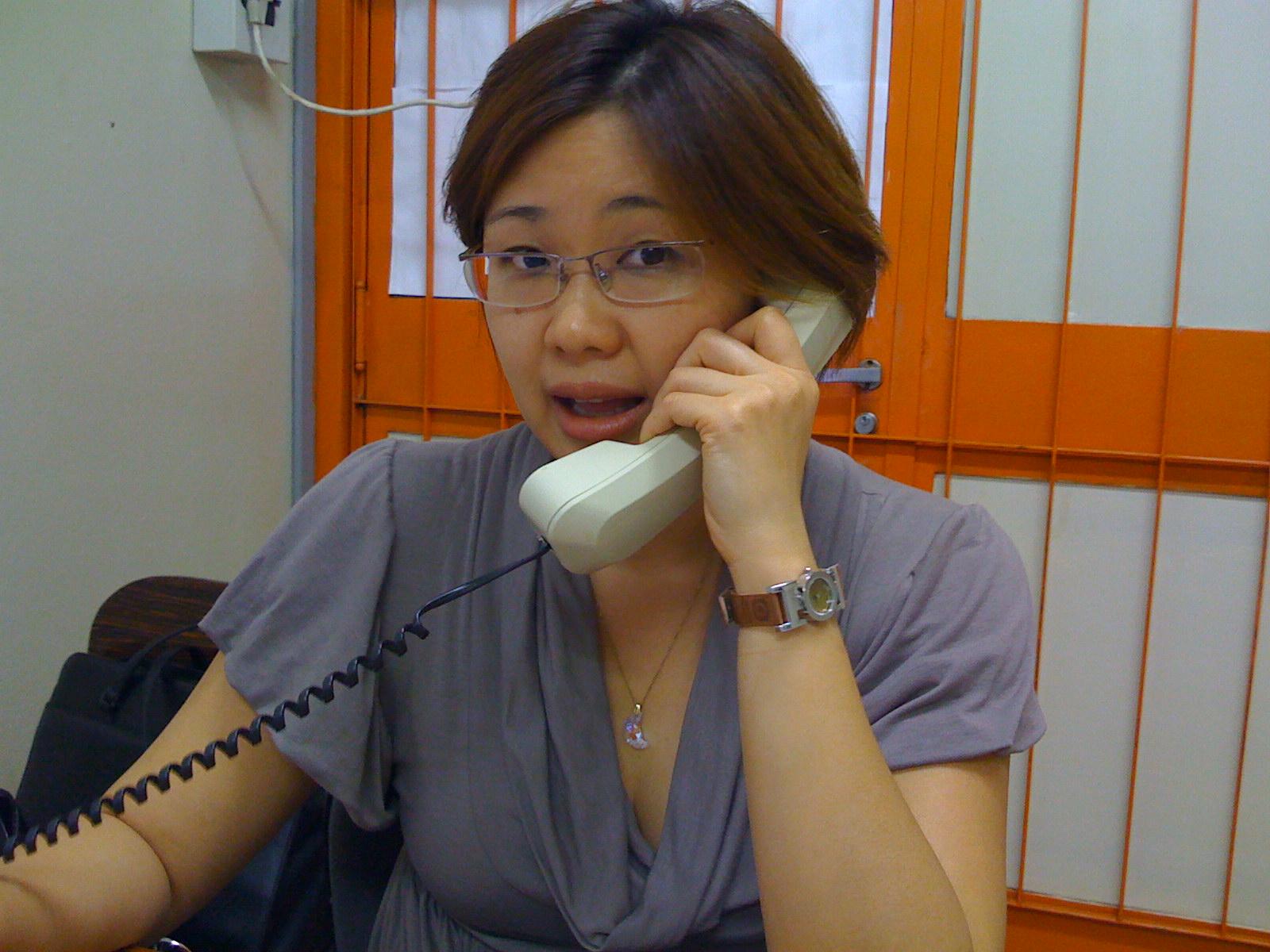 Coordenadora do Curso de Jornalismo da UFMS, Profª Drª Daniela Ota