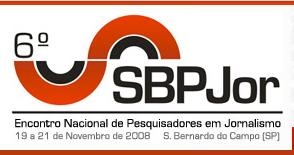 Logo 6º Encontro Nacional de Pesquisadores em Jornalismo (SBPJor)
