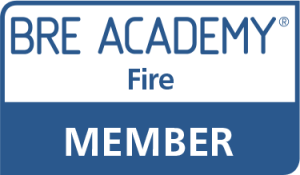 BRE Academy Member Logo Fire