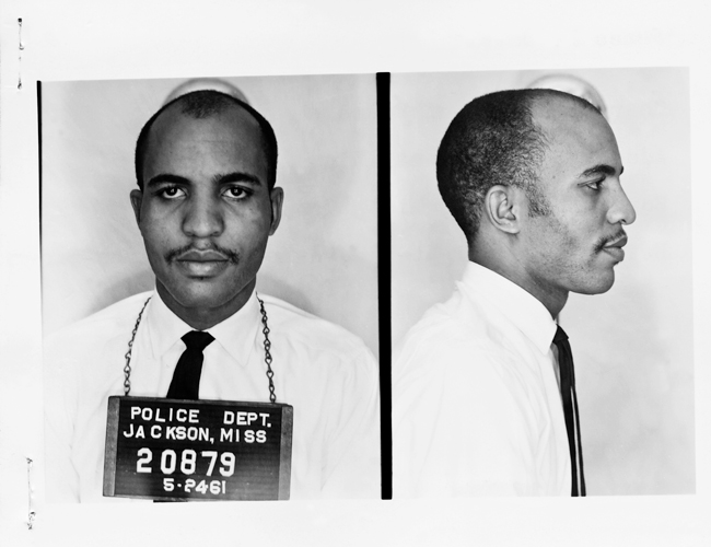 James Bevel rode on the first bus of Freedom Riders into Jackson in 1961. He quickly bailed out after his arrest and began recruiting local high school students to join the Rides.