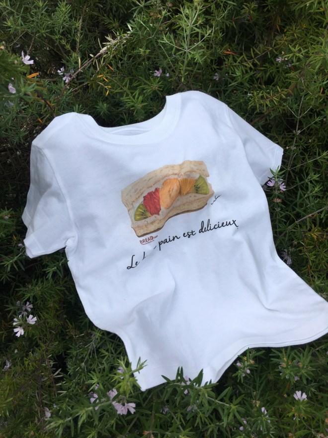 フルーツサンドTシャツ