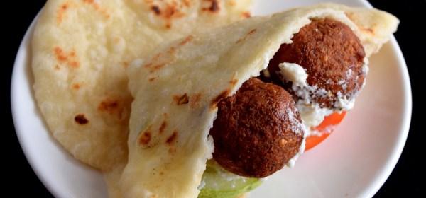 Pita Falafel Sandwich