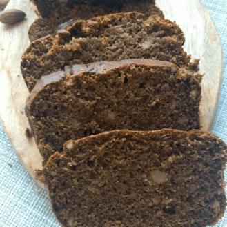 Dates & Walnut Cake