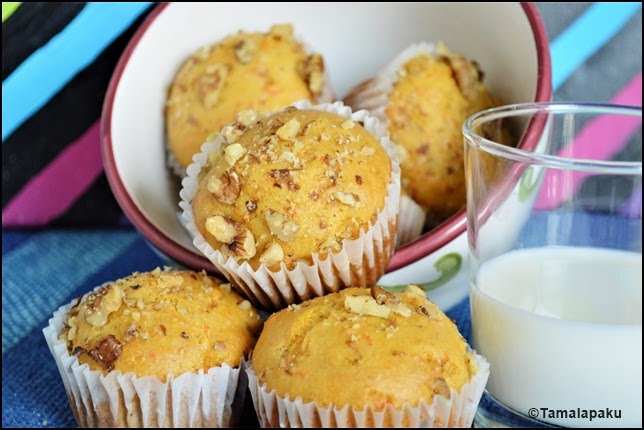 Eggless Carrot Muffins With Condensed Milk (3)