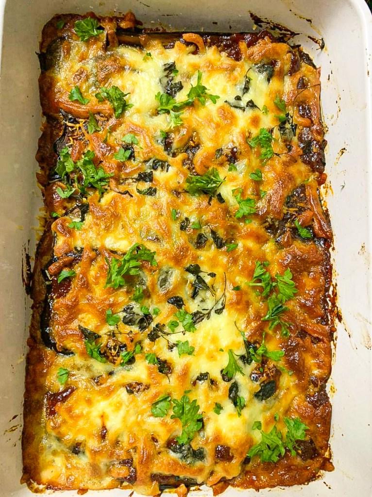baked eggplant dish
