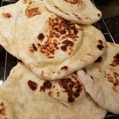 finished naan