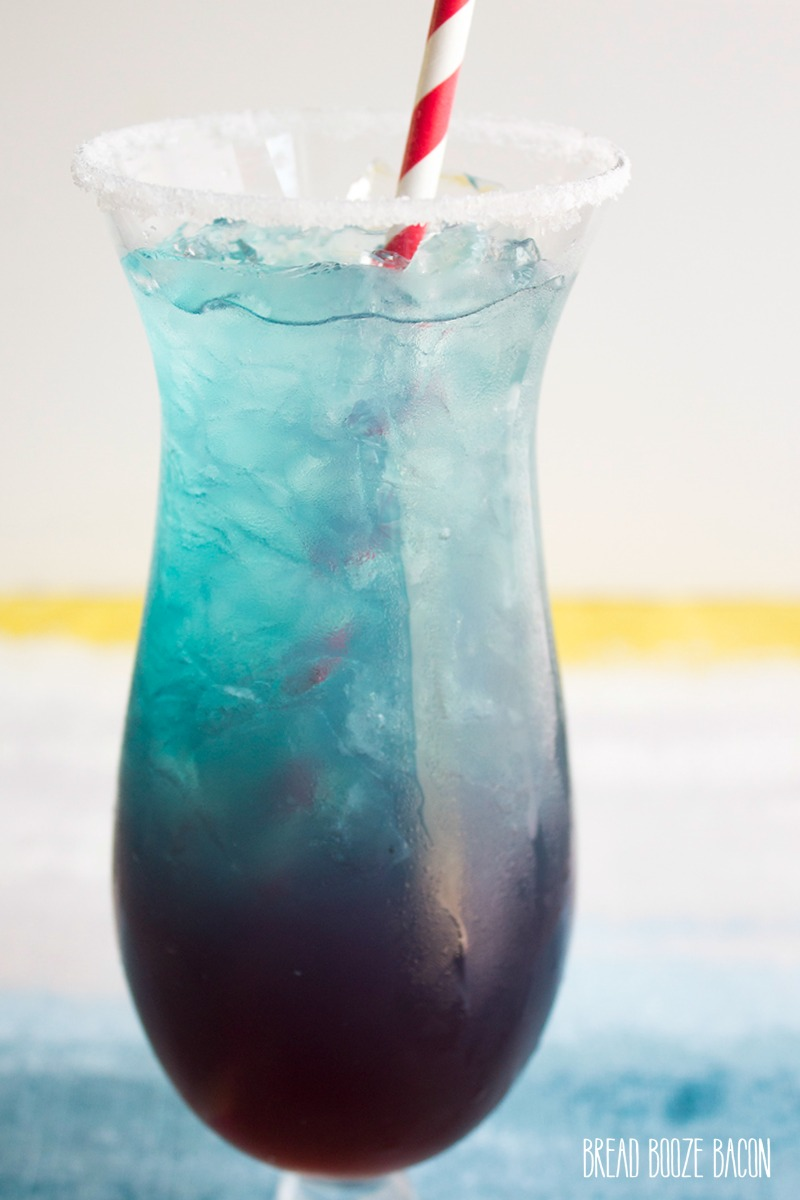 Shark Attack Blue Margarita Bread Booze Bacon