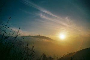 Sunrise at Little Adams Peak, Ella - Sri Lanka