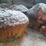 Dark Chocolate and Raspberry Muffins