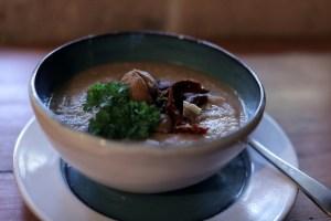 Soupe aux marrons