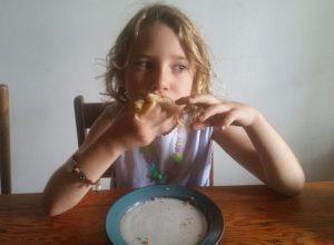 manger des crepes