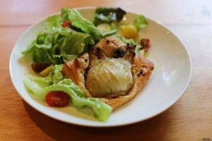 Fennel & goat cheese tartes