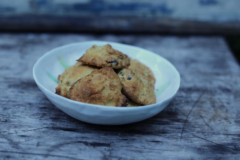 GF porridge cookies