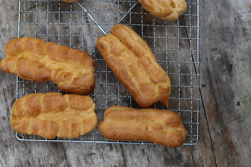 example of missed flat choux