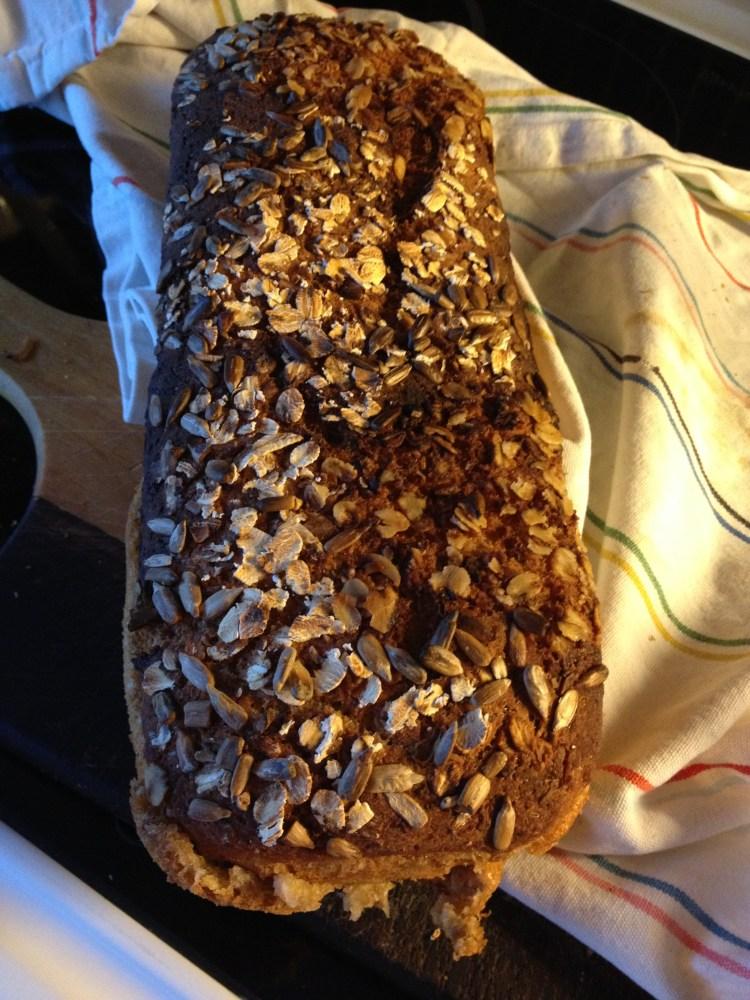 Premiärbakning av glutenfritt formbröd (1/3)
