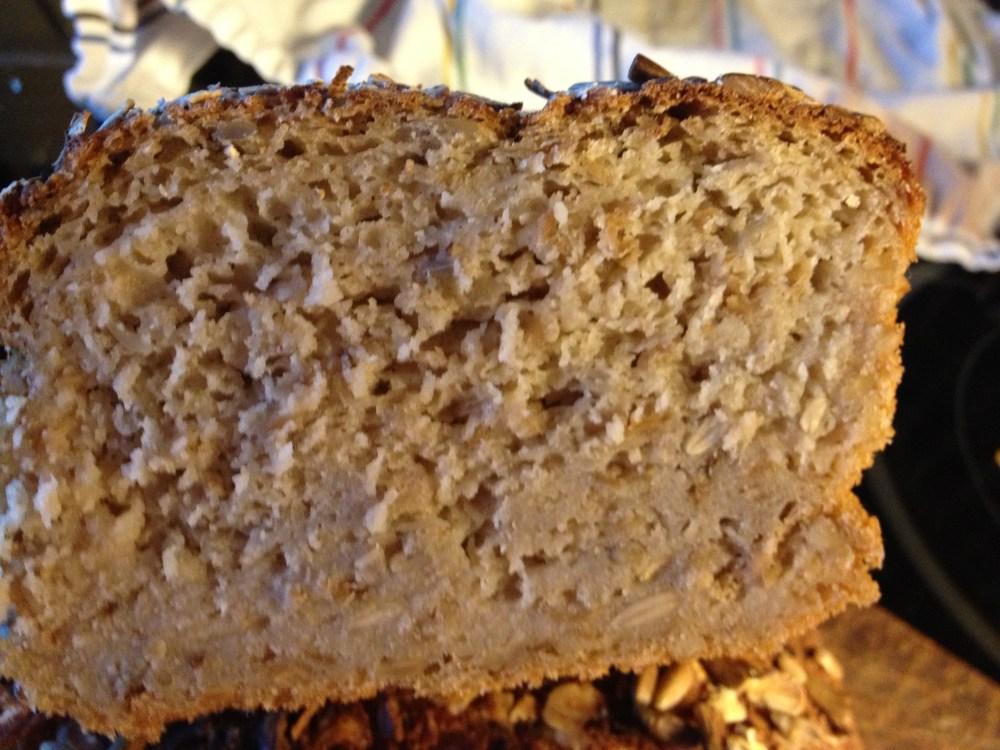 Premiärbakning av glutenfritt formbröd (2/3)