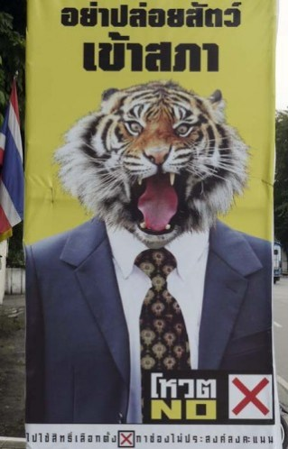 Election Poster, Chiang Mai