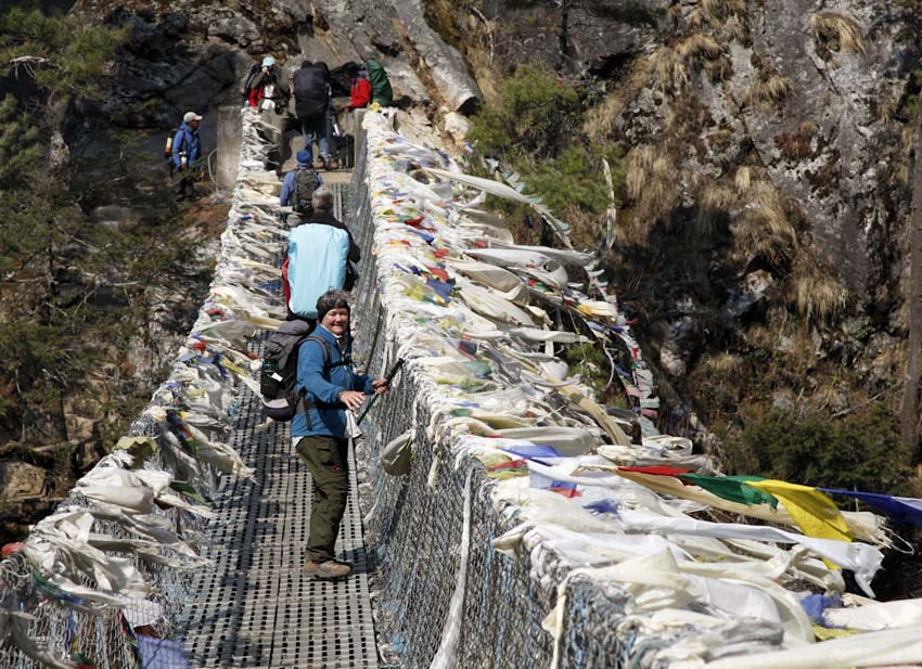 Bridge below Namche