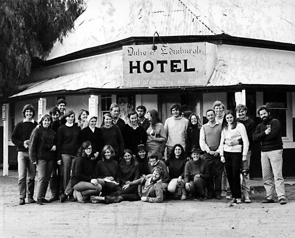 ANU Zoology Department, Field Trip to Booligal, 1970