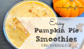 Bleh. | How pumpkin pie smoothies saved my morning.