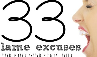 33 Reasons To Skip a Workout Day