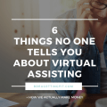 """Being a Virtual Assistant is NOT a """"Get Rich Quick"""" Scheme"""