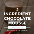 3 Ingredient Chocolate Mousse | Paleo Chocolate Mousse | Trim Healthy Mama