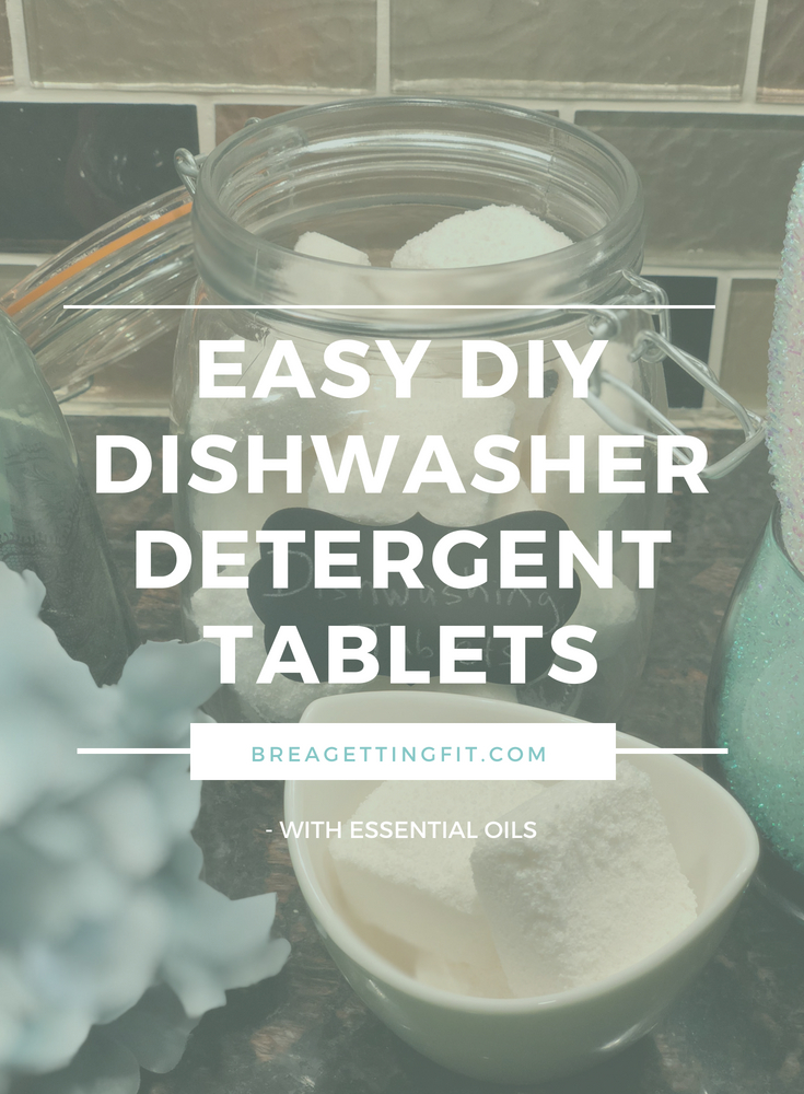 Easy DIY Dishwasher Detergent Tablets