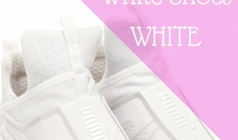 Keep White Shoes Fierce