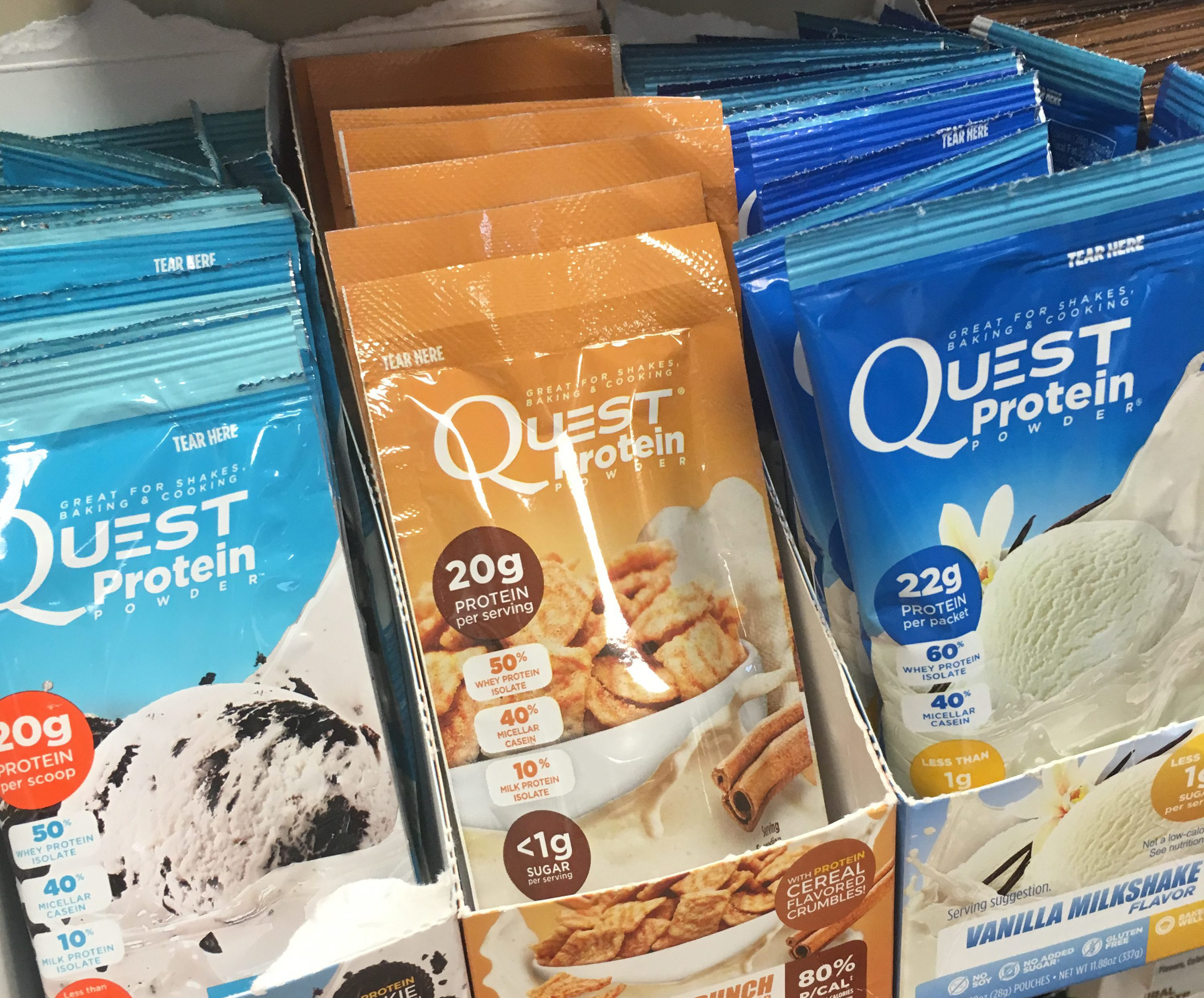 2-Ingredient Breakfast Ice Cream {Quest Nutrition} | Brea Getting Fit