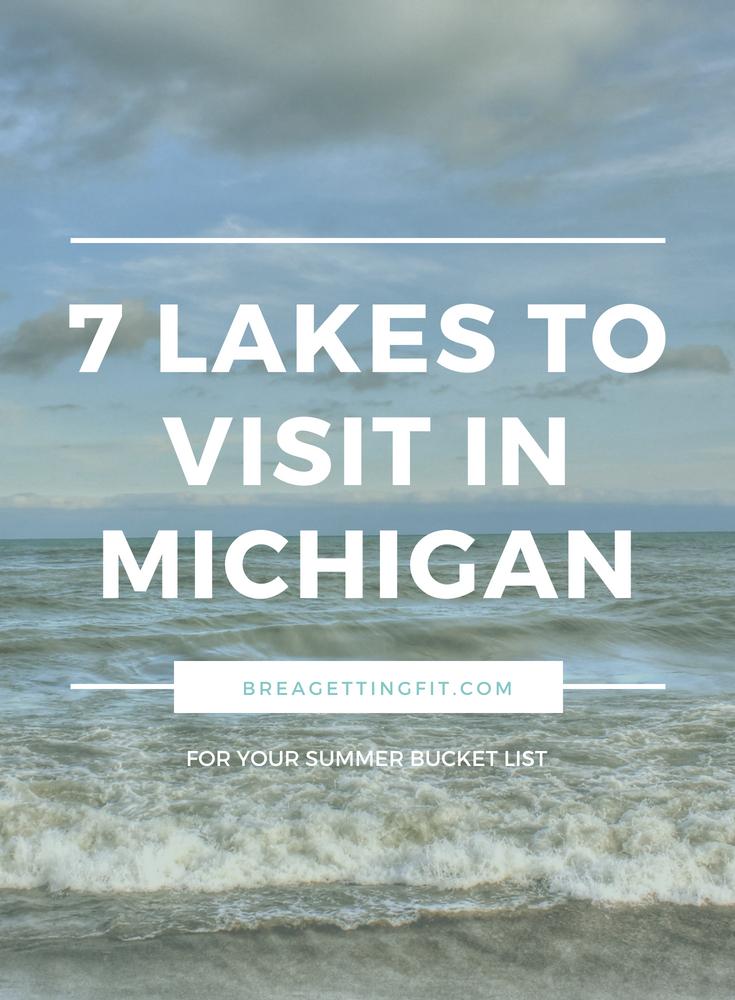 7 Lakes to Visit in Michigan