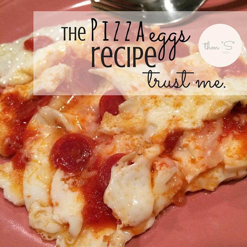 Pizza Eggs Aren't Just For Breakfast - THM S Recipe!