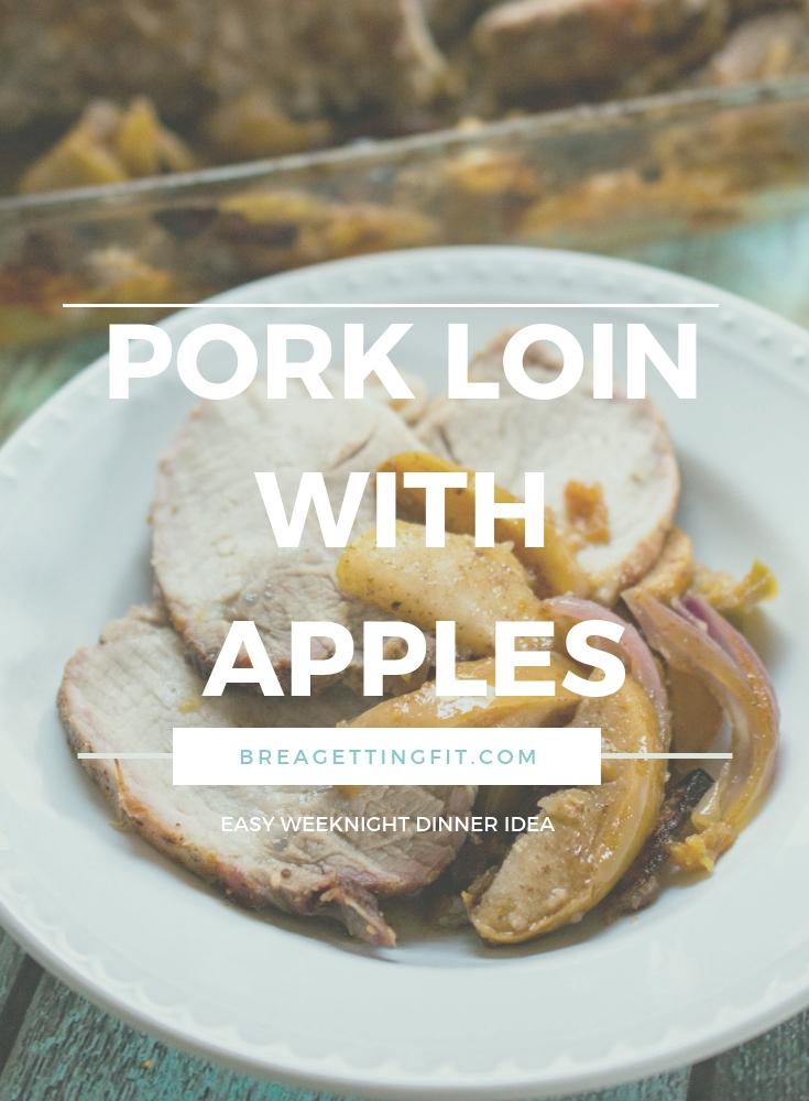 Pork Loin with Apples