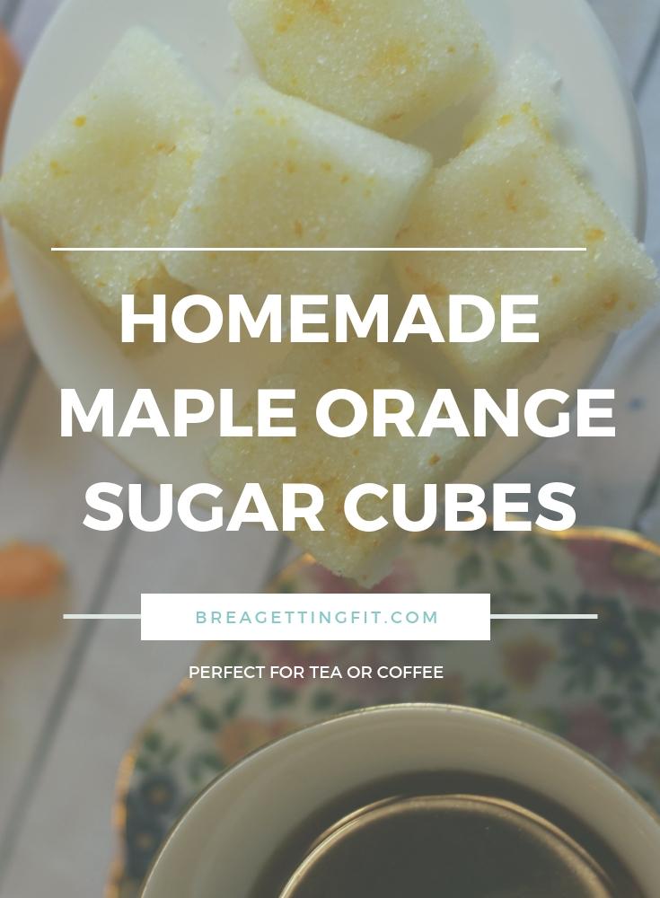 Homemade Maple Orange Sugar Cubes Image