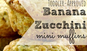 Toddler-Approved Banana Zucchini Muffins
