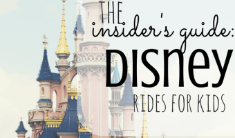 The Insider's Guide to Disney Rides For Kids