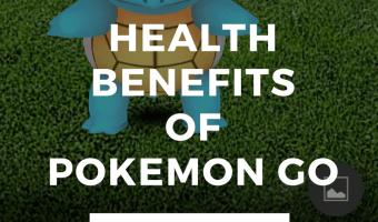 3 Health Benefits of Pokemon Go