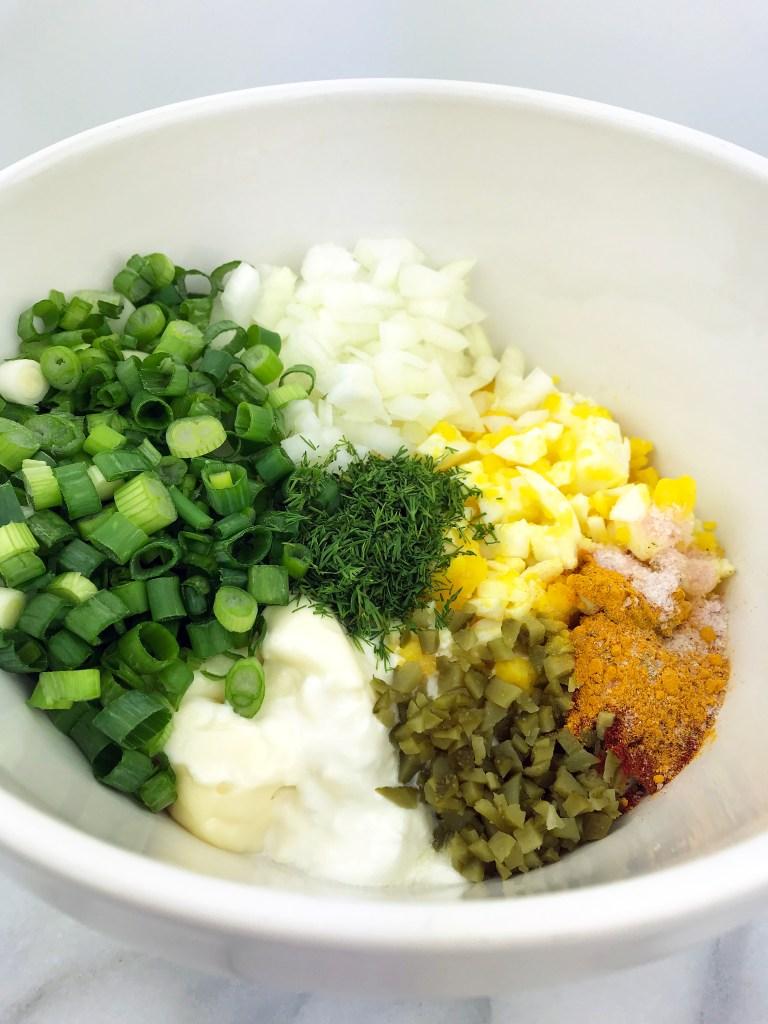 how to make healthy egg salad