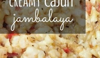 Gluten Free Creamy Cajun Jambalaya