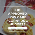 "low carb ""corn"" dog muffin recipe"