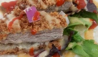 Panko Crusted Pork Street Tacos